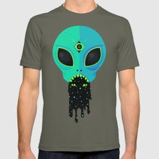 Alien Flu Mens Fitted Tee Lieutenant SMALL