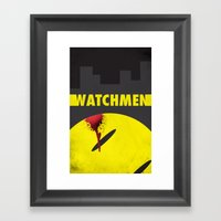 Watchmen Framed Art Print