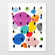 Bernard Pattern Canvas Print