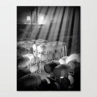 barrel room Canvas Print