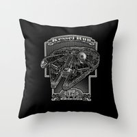 Kessel Run Throw Pillow