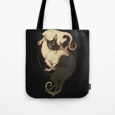 Monster Kitties Tote Bag