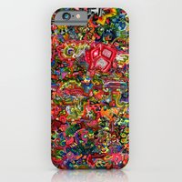 iPhone & iPod Case featuring Planetary Funk by czavelle