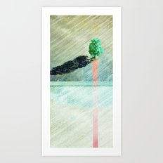 long shadows 02 Art Print