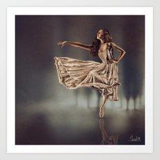 Ballereal Art Print