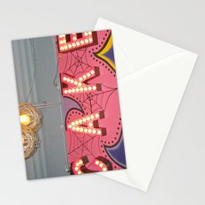 Cake ~ pop carnival signage Stationery Cards