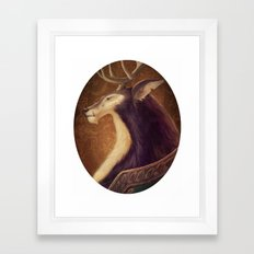 Beast Framed Art Print