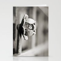 Fence B/W Stationery Cards