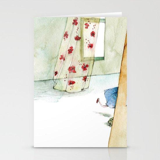 Runway Princess  Stationery Card