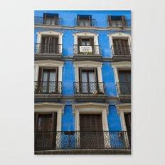 Madrid Blues Canvas Print