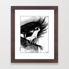 asc 602 - La spectatrice (Valentina at the gallery) Framed Art Print