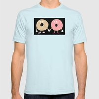 Power Couple Mens Fitted Tee Light Blue SMALL