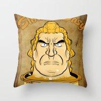 Brockpot Throw Pillow