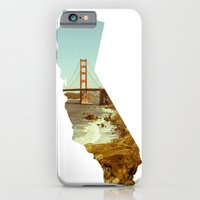 california iPhone & iPod Cases featuring California by Gabriel Sul