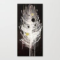 Feather Souls Canvas Print