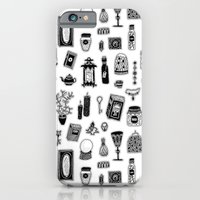 iPhone Cases featuring Mysterious Witch Possessions by Stacey Muir
