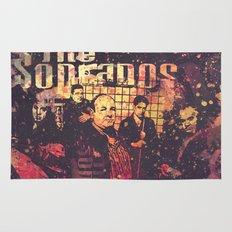 The Sopranos (in memory of James Gandolfini)3 Rug