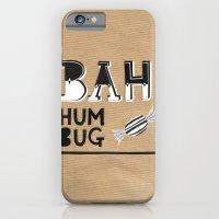 Bah Humbug! - Christmas Card iPhone 6 Slim Case