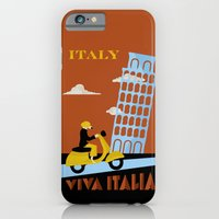 italy iPhone & iPod Cases featuring Italy by Laurel Natale