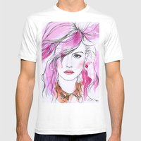Charlotte Free Mens Fitted Tee White SMALL