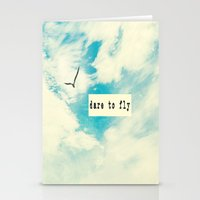 Dare to Fly II Stationery Cards