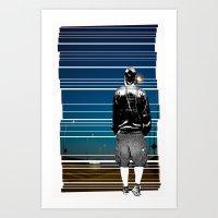 The Walking Man Art Print