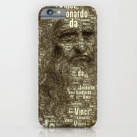 Leonardo Da Vinci iPhone 6 Slim Case