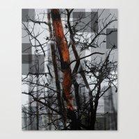 Burnt Tree Canvas Print