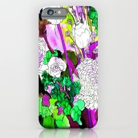 forest flowers 2 iPhone 6 Slim Case