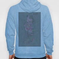 Rose Orchid Drawing Hoody