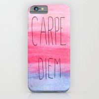 iPhone & iPod Case featuring Seize The Day by ems orlien