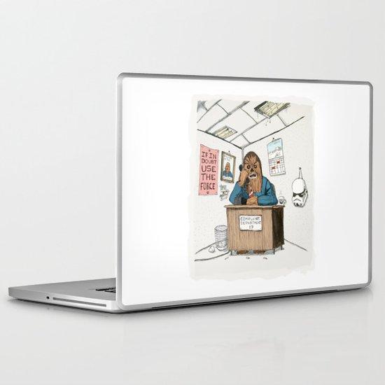 Chewwie at work Laptop & iPad Skin