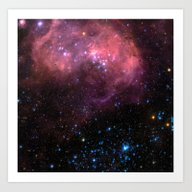 Large Magellanic Cloud Art Print