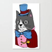 Dignified Cat Canvas Print
