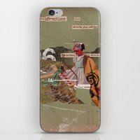 Read the Directions iPhone & iPod Skin
