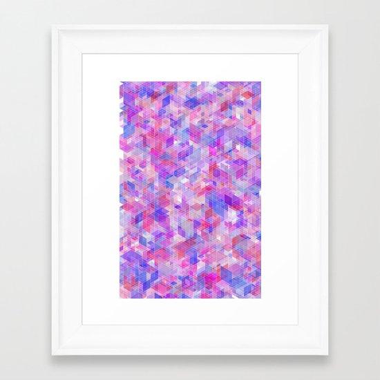 Panelscape - #10 society6 custom generation Framed Art Print