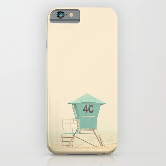 the sound of outer ocean on a beach ... iPhone & iPod Case