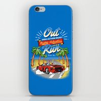 Racing Adventure iPhone & iPod Skin