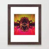 R.A.W. Framed Art Print