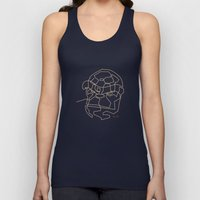 One Line The Thing Unisex Tank Top