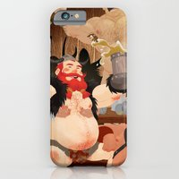 iPhone & iPod Case featuring Vikings by Dronio