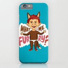 What—me furry? iPhone 6s Slim Case