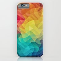 Abstract Color Wave Fla… iPhone 6 Slim Case