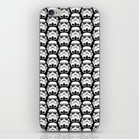Stormtroopers on Black 2 iPhone & iPod Skin