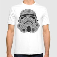 Order 66 Mens Fitted Tee White SMALL