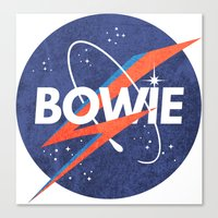 Iconic Bowie Canvas Print