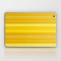 Indomitable - tribal geometrics Laptop & iPad Skin