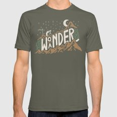 Wo/aNDER Mens Fitted Tee Lieutenant SMALL