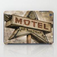 Vntage Grunge Star Motel… iPad Case