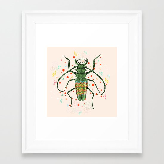 Insect V Framed Art Print